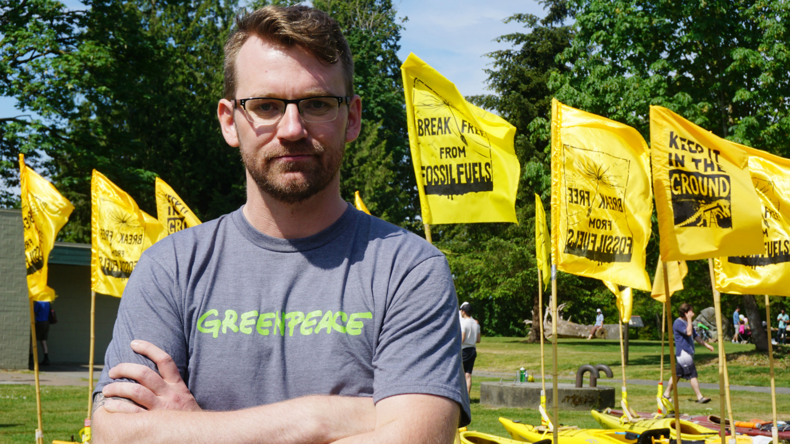 Mike Hudema, Greenpeace, Kinder Morgan, Energy East
