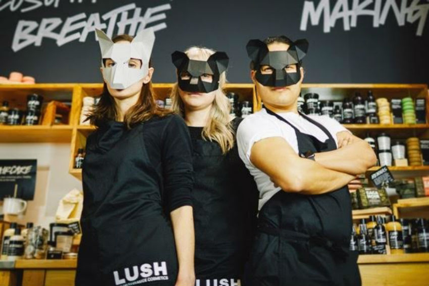 Lush, Lush Canada, cosmetics, free trade, no animal testing, trophy hunt