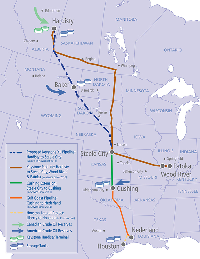 Here Are The Major Canadian Pipelines The Oil Patch Wants