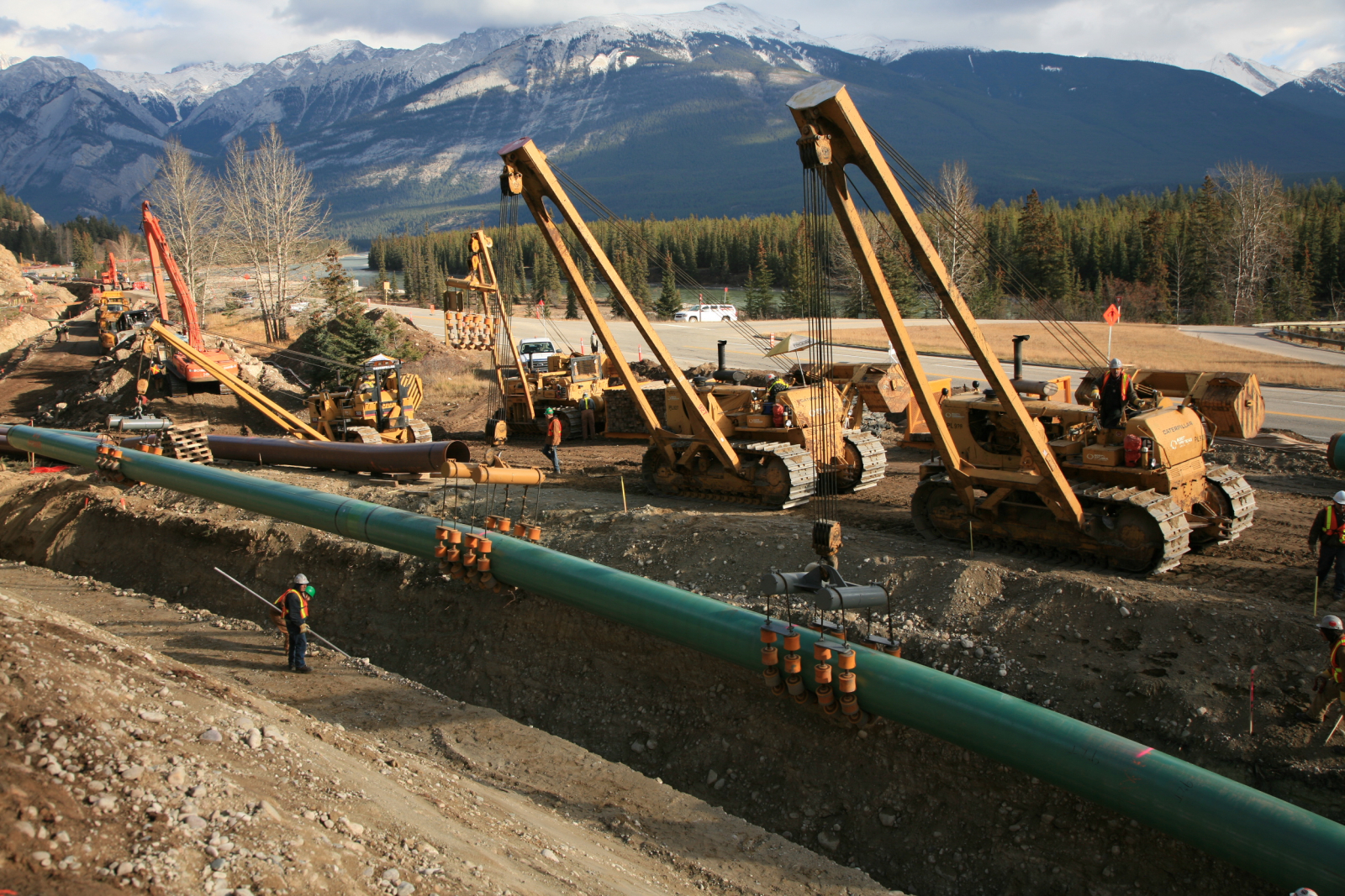 Kinder Morgan Canada, pipeline, Trans Mountain expansion, handout