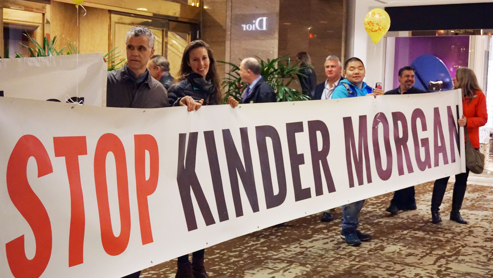 Kinder Morgan, pipeline protest, Trans Mountain expansion, Vancouver