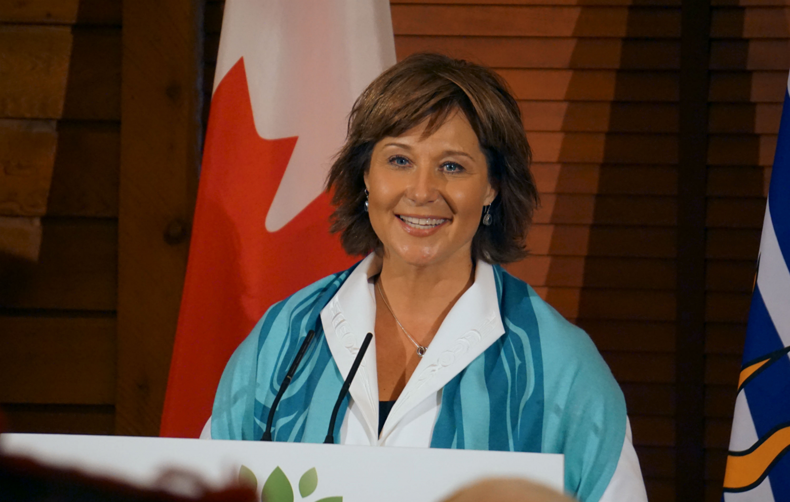 Christy Clark, Great Bear Rainforest, B.C. premier, timber industry, conservation