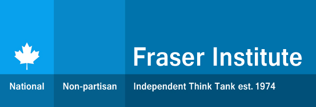 Fraser Institute logo claims impartiality, but has a clear bias