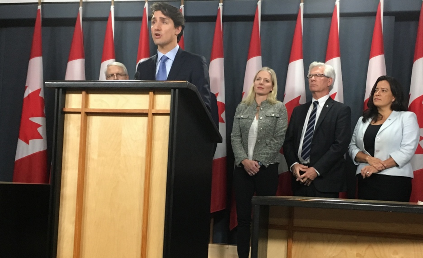 Justin Trudeau, Kinder Morgan, Trans Mountain expansion, Enbridge Northern Gateway