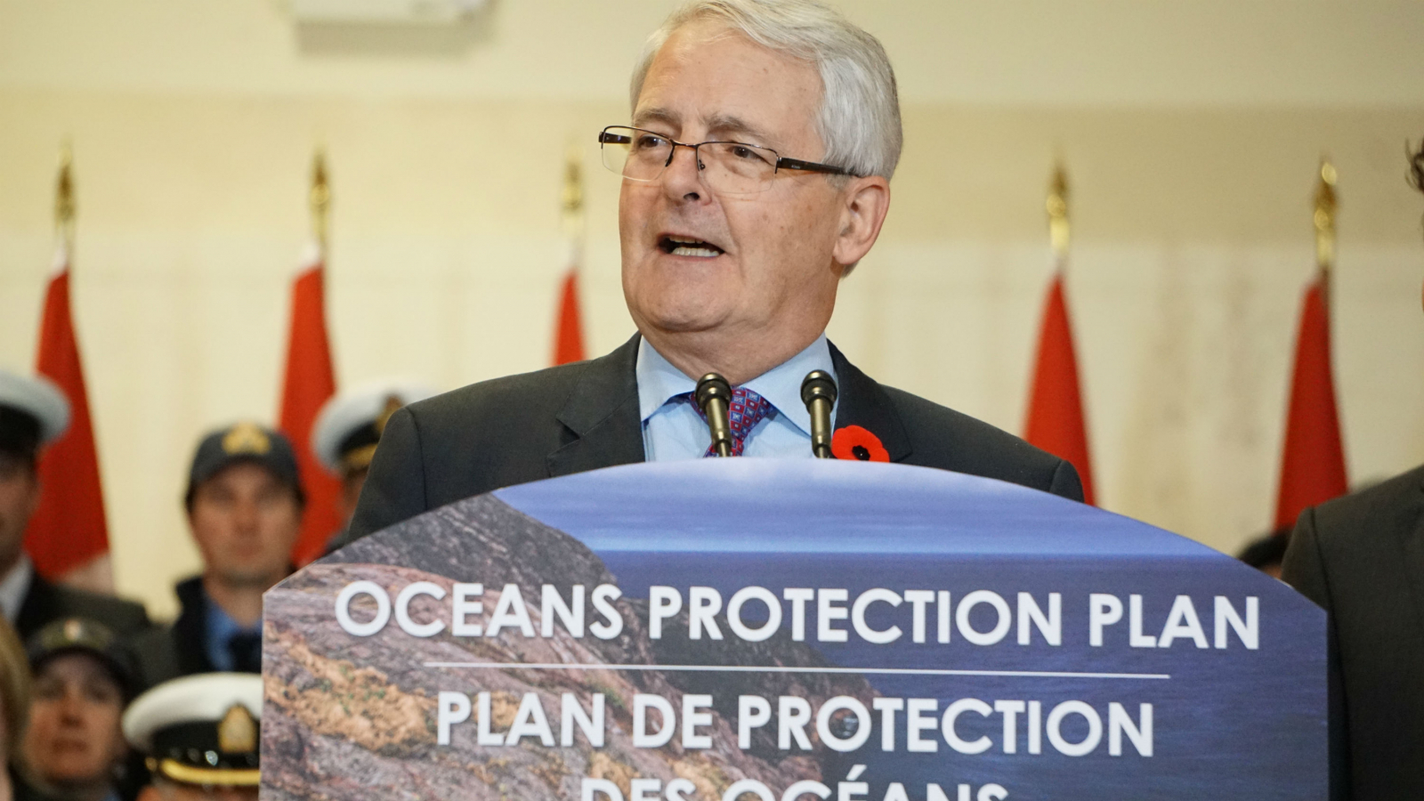 Transport Minister, Marc Garneau, tanker ban, B.C. coast, Haida Gwaii, Great Bear Rainforest