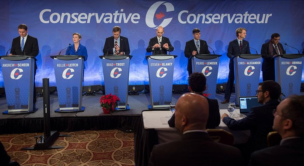 Conservative Party of Canada, leadership debate, Moncton, New Brunswick, French