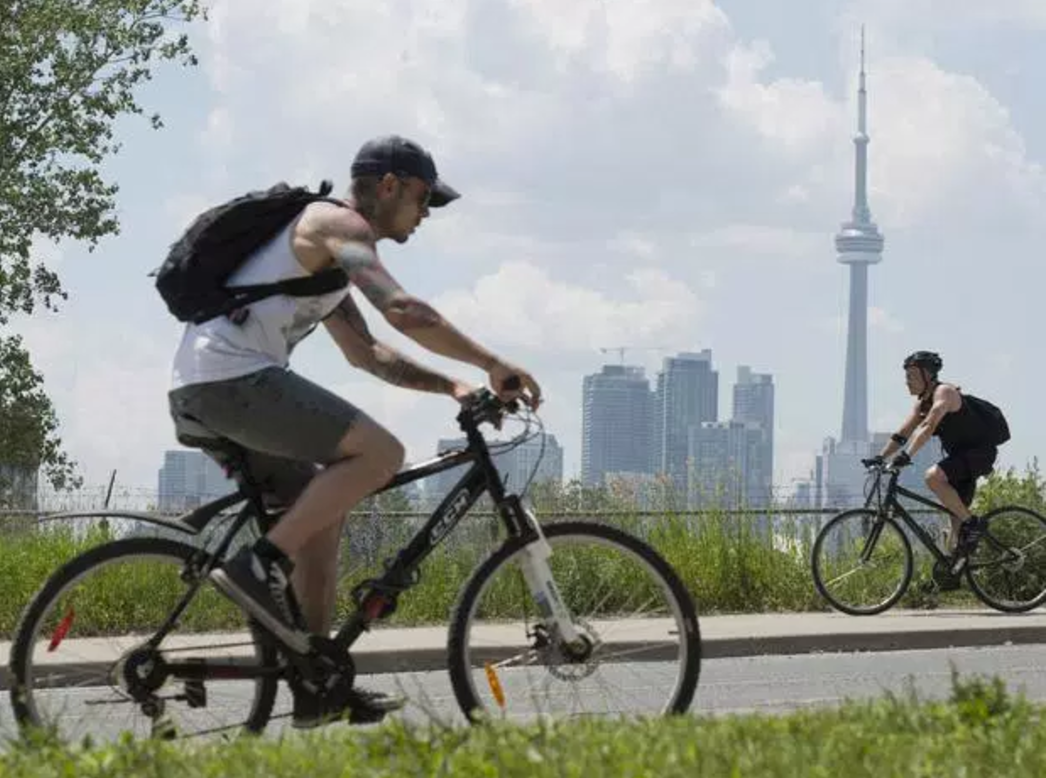 bicycle, Toronto, public transit, clean energy, cycling,