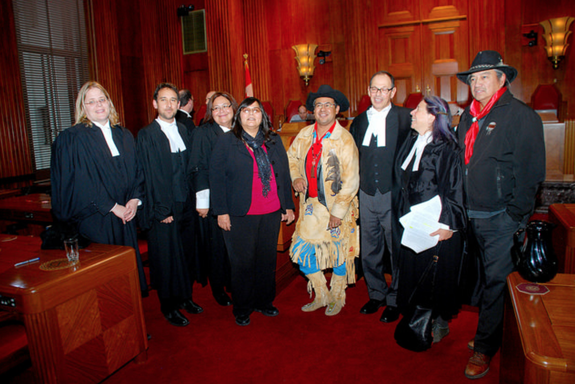 Thomson Rivers University, Tsilhqot'in, Supreme Court, First Nations