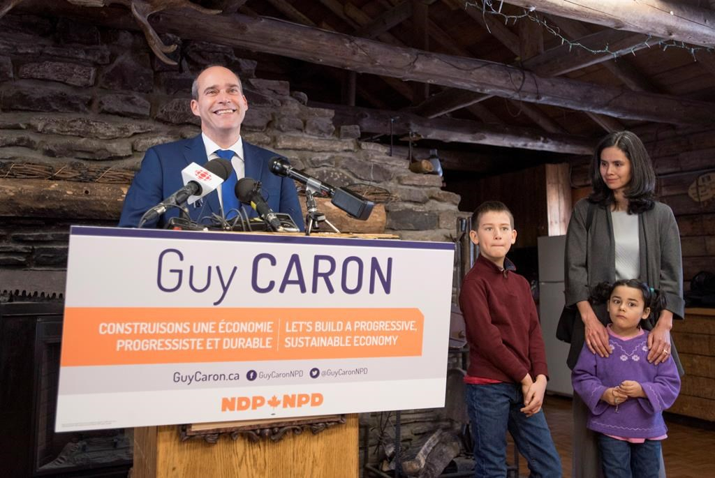 Quebec MP Guy Caron is joining the race to lead the NDP