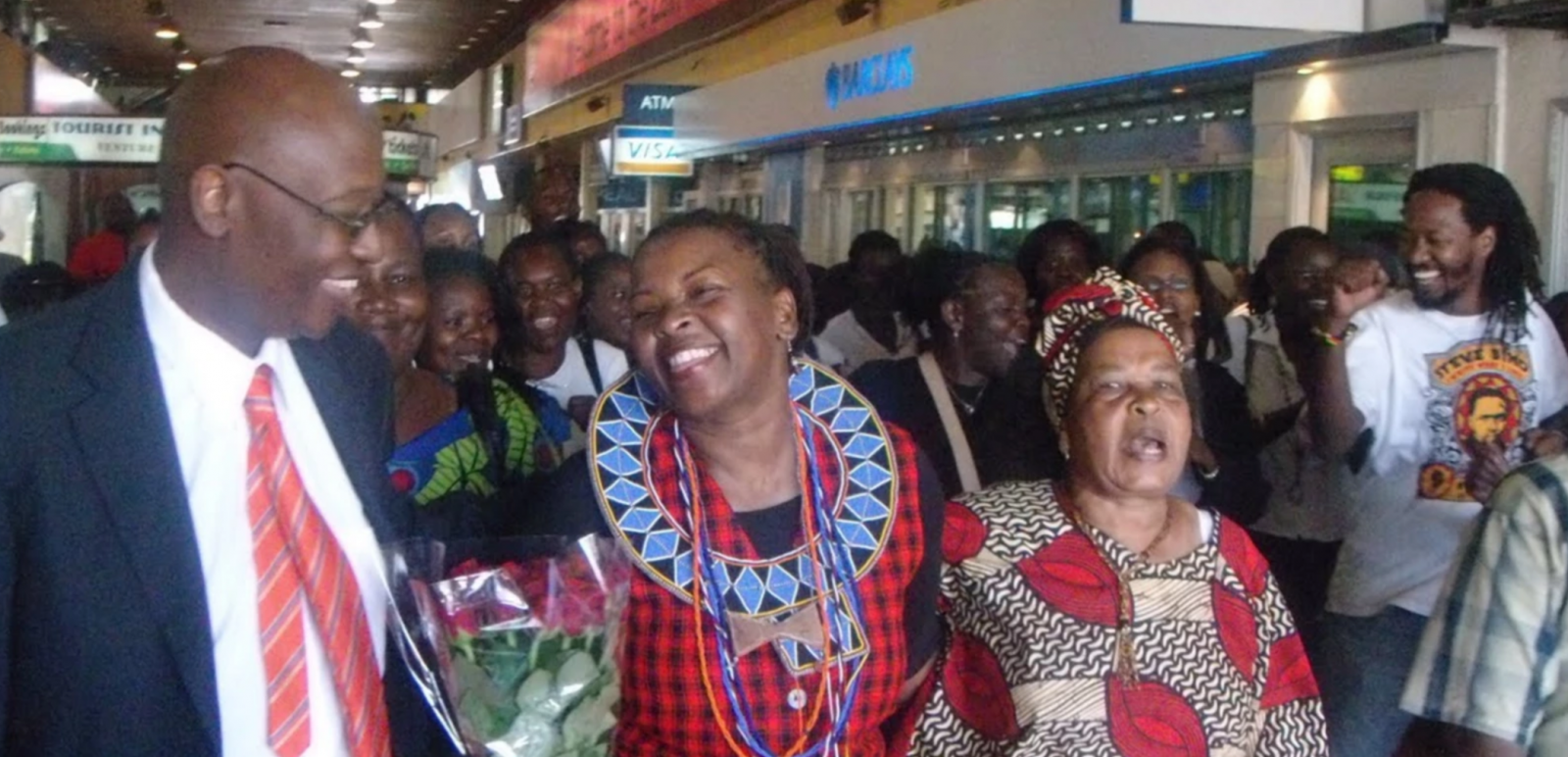 Njeri Kabeberi, Jomo Kenyatta International Airport, Kenya, human rights