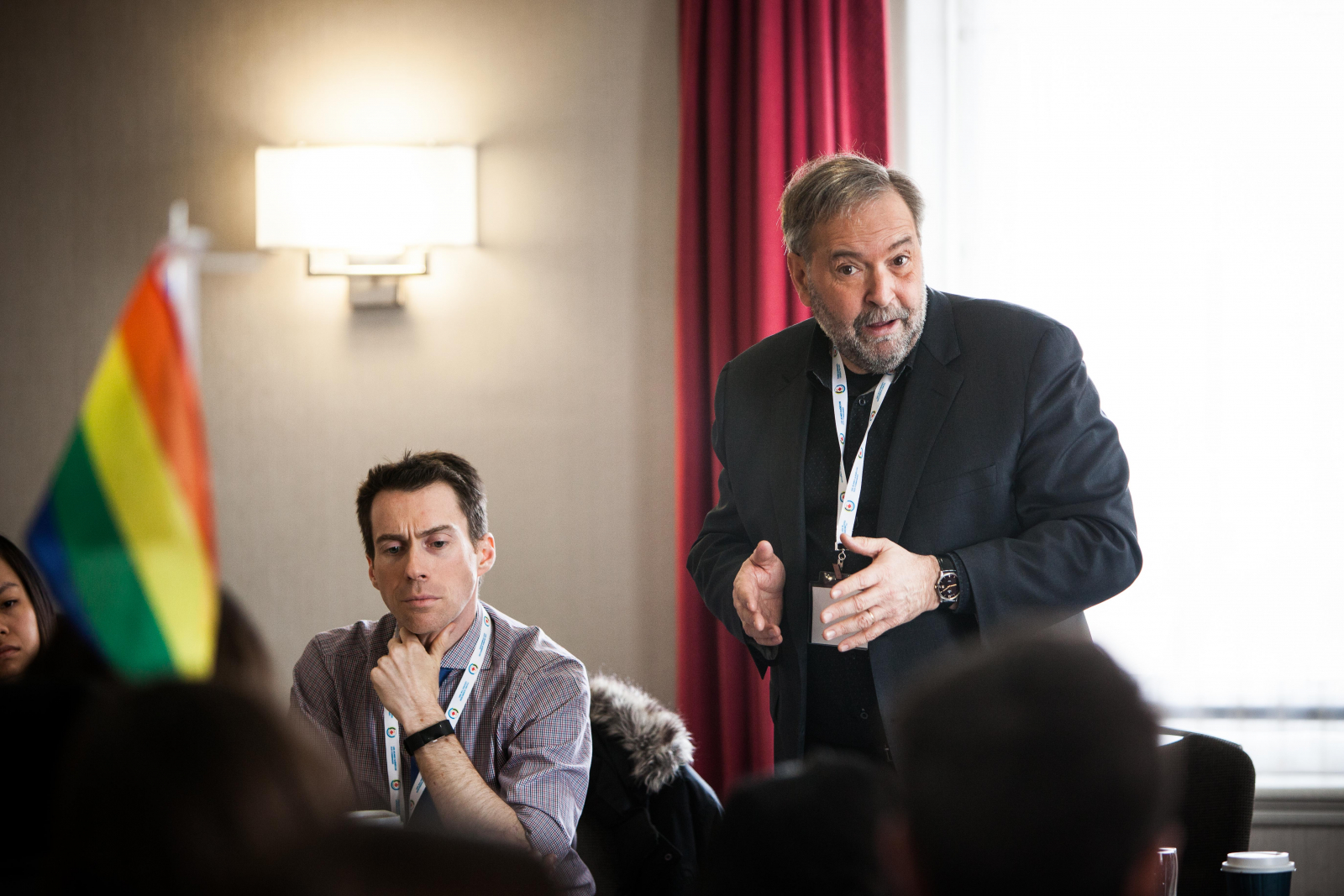 Thomas Mulcair, Gatineau, Quebec Community Groups Network, New Democratic Party of Canada, NDP, Nick Gamache, CBC, The House