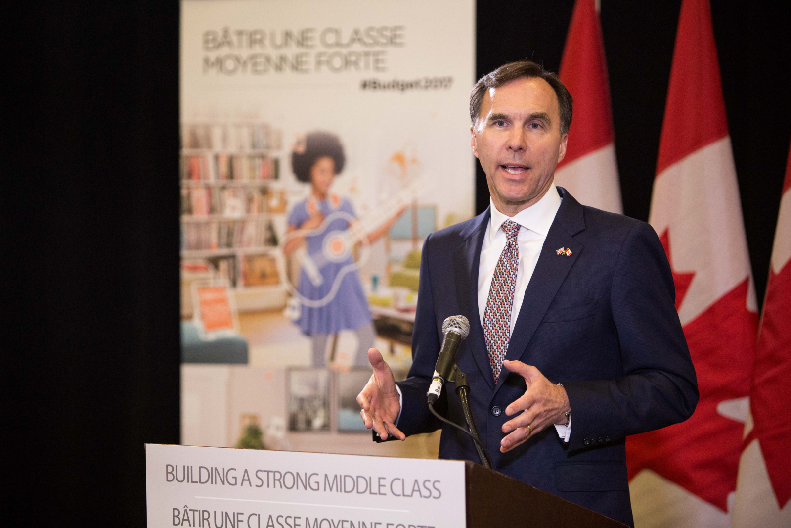 Bill Morneau, Ottawa, budget 2017