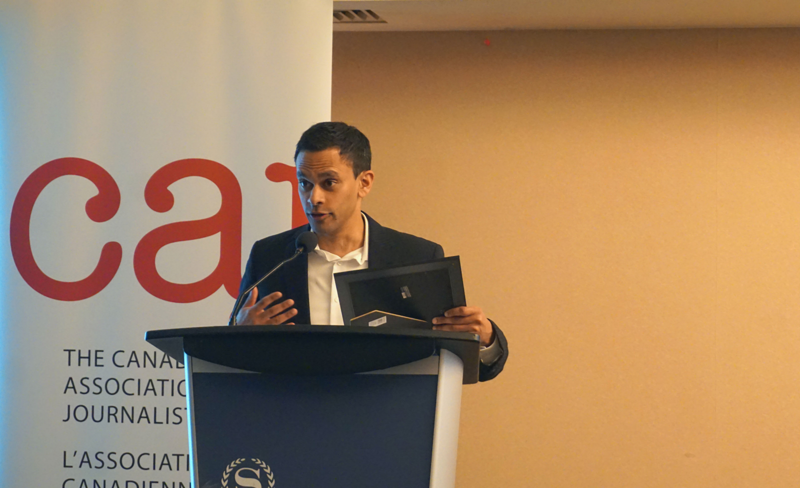 Mike De Souza, Canadian Association of Journalists, National Energy Board, Energy East, Charest Affair
