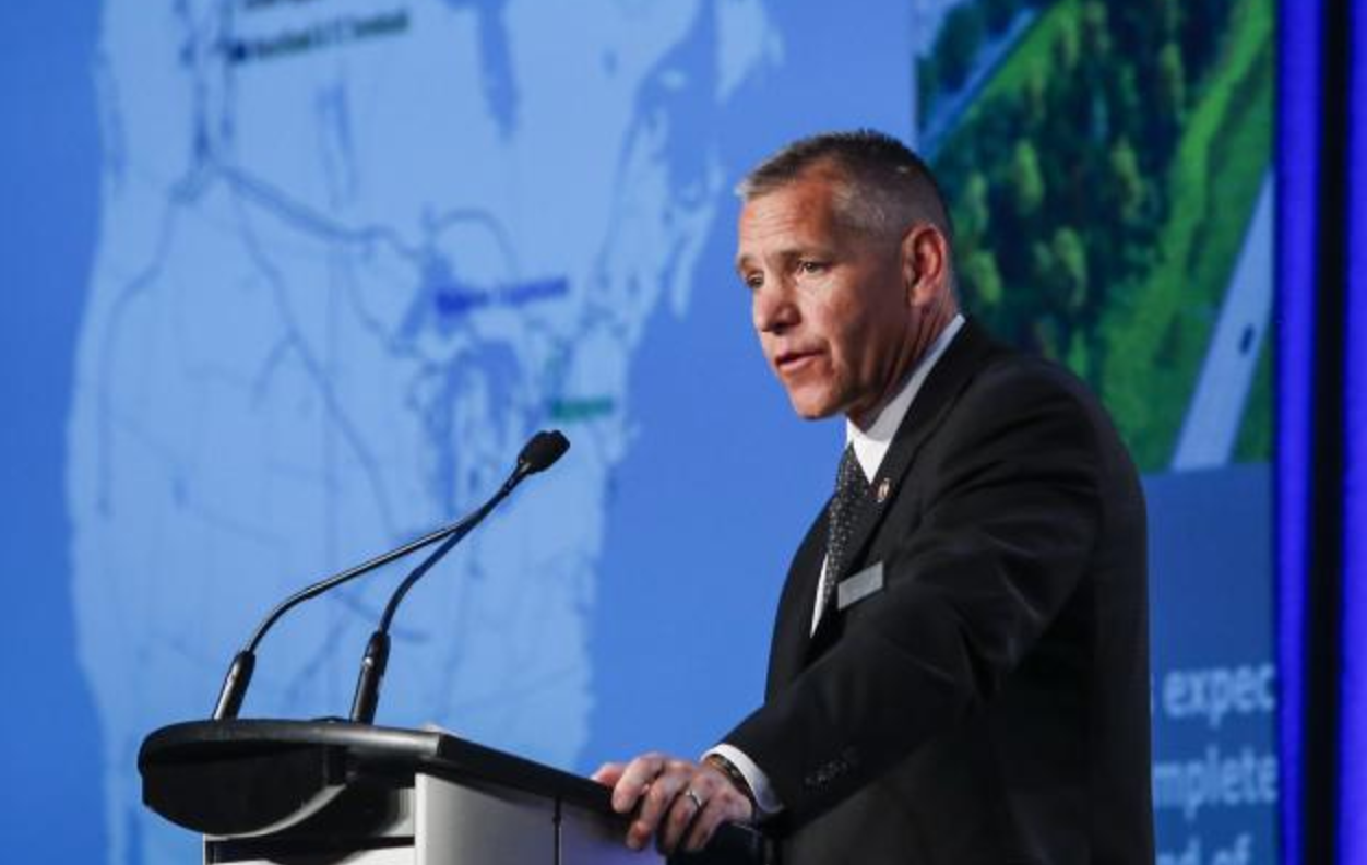 Russ Girling, TransCanada, CEO, Energy East, Calgary, annual general meeting