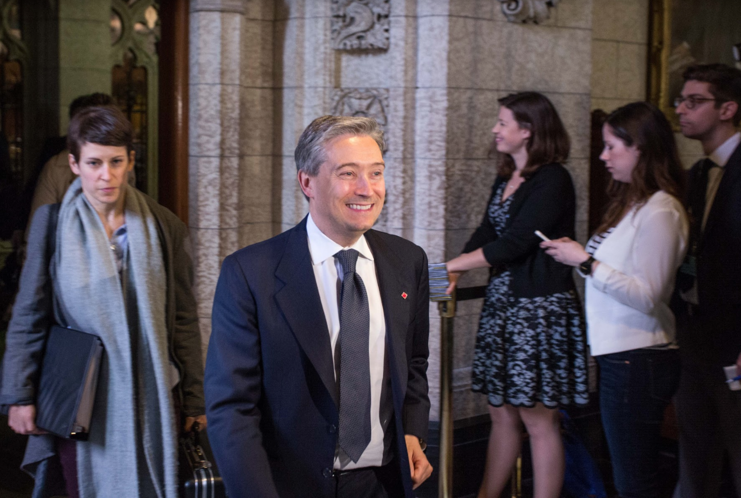 Francçois-Philippe Champagne, International Trade minister, House of Commons