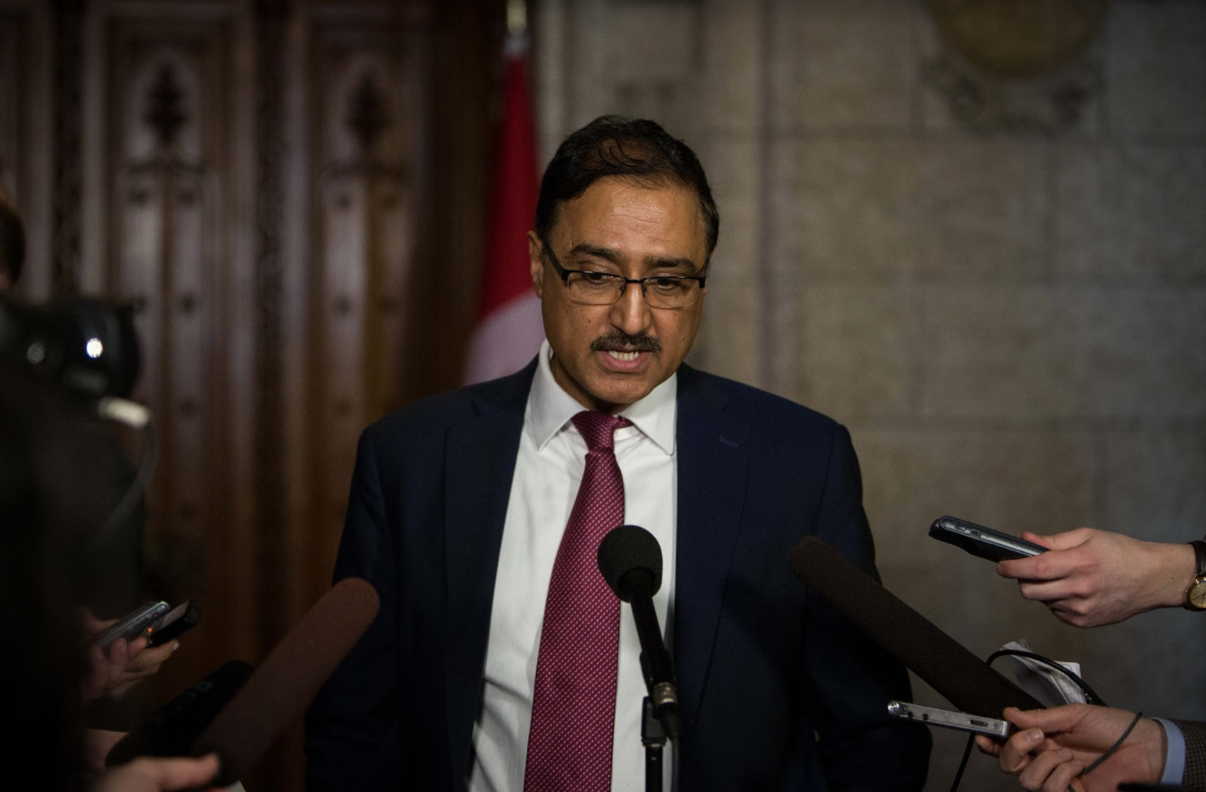 Amarjeet Sohi, Infrastructure Minister, House of Commons