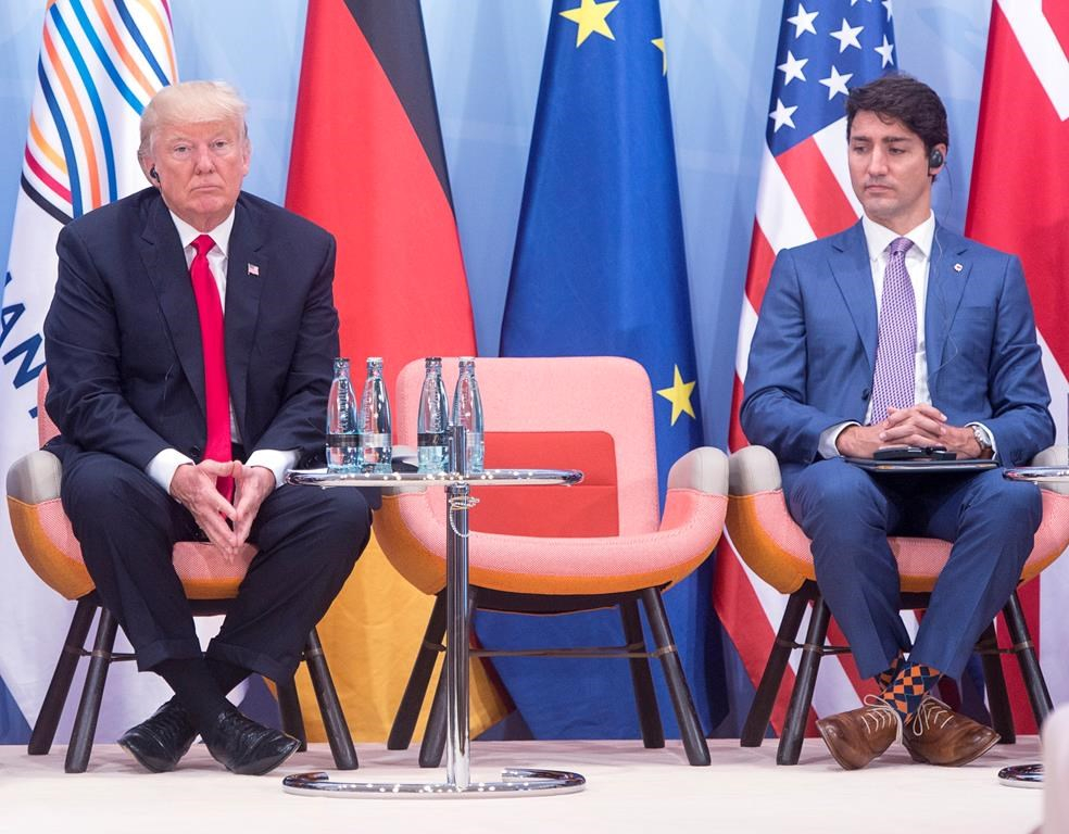 Prime Minister Justin Trudeau, United States President Donald Trump, Women and Development event, G20 summit, Hamburg, Germany