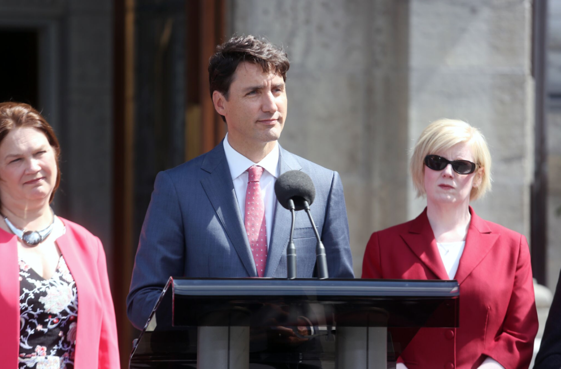 Justin Trudeau, Jane Philpott, Carla Qualtrough, cabinet shuffle, Rideau Hall