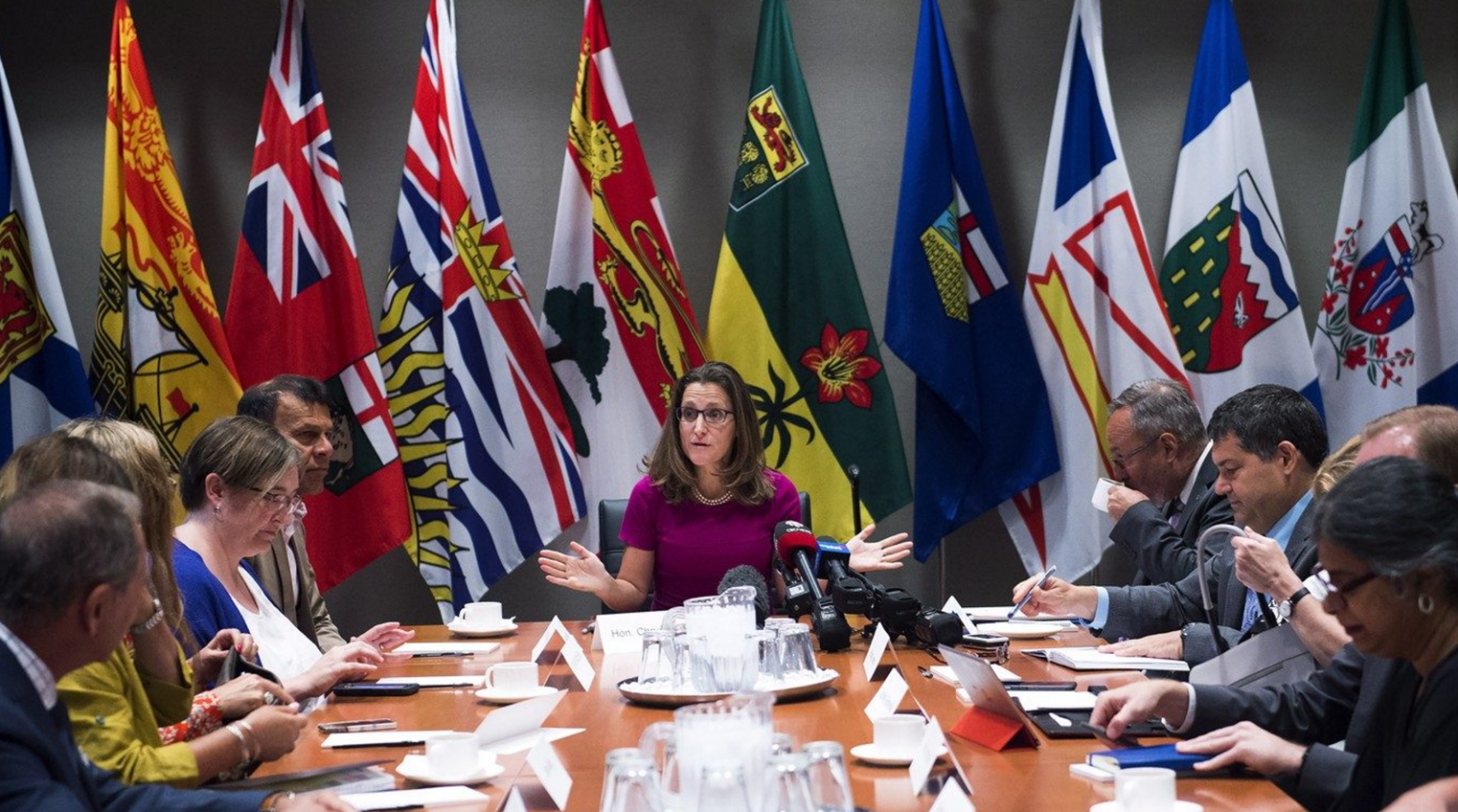 Chrystia Freeland, Foreign Affairs Minister, NAFTA, labour, NAFTA renegotiations