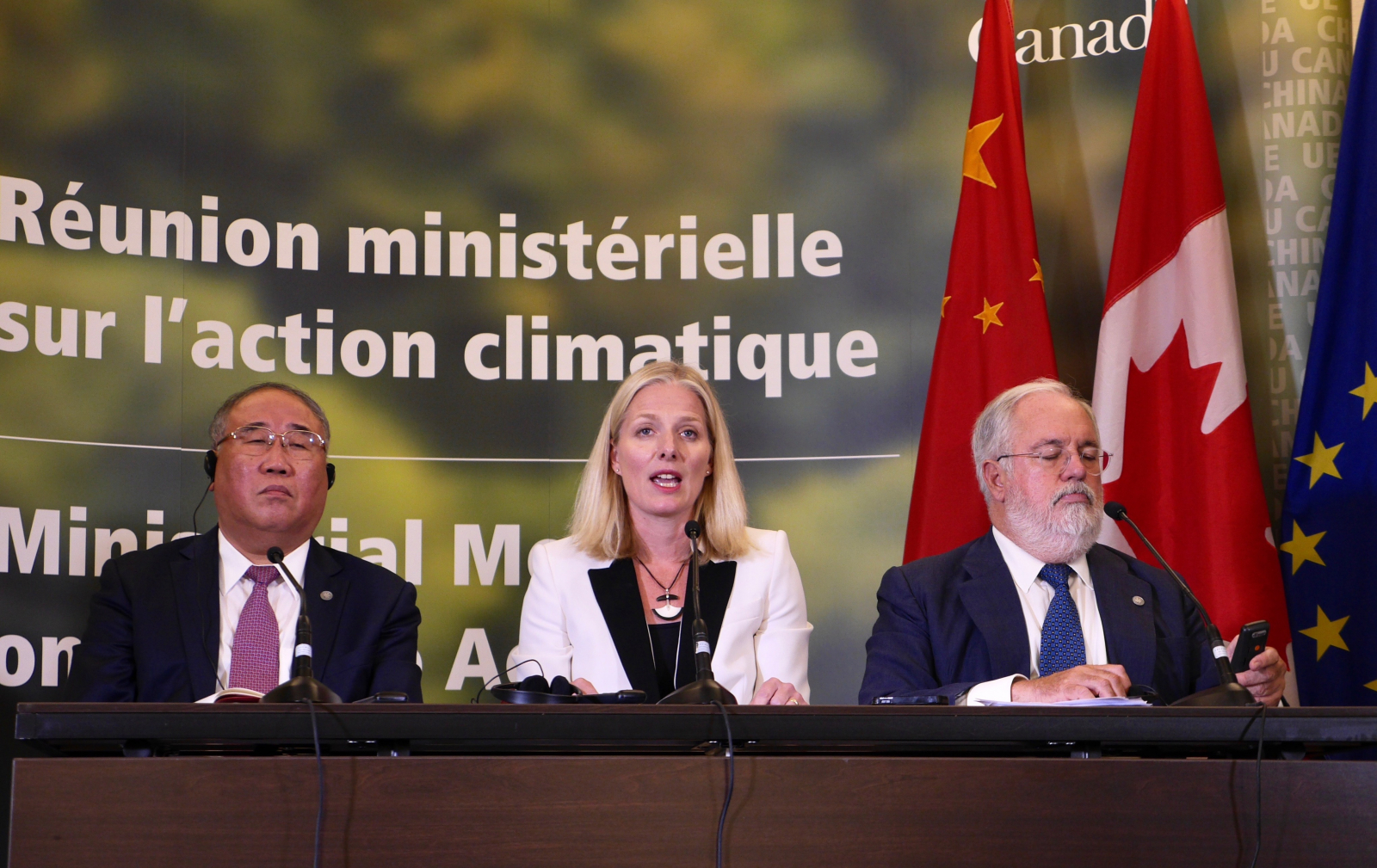 Montreal meeting, climate change, Paris agreement