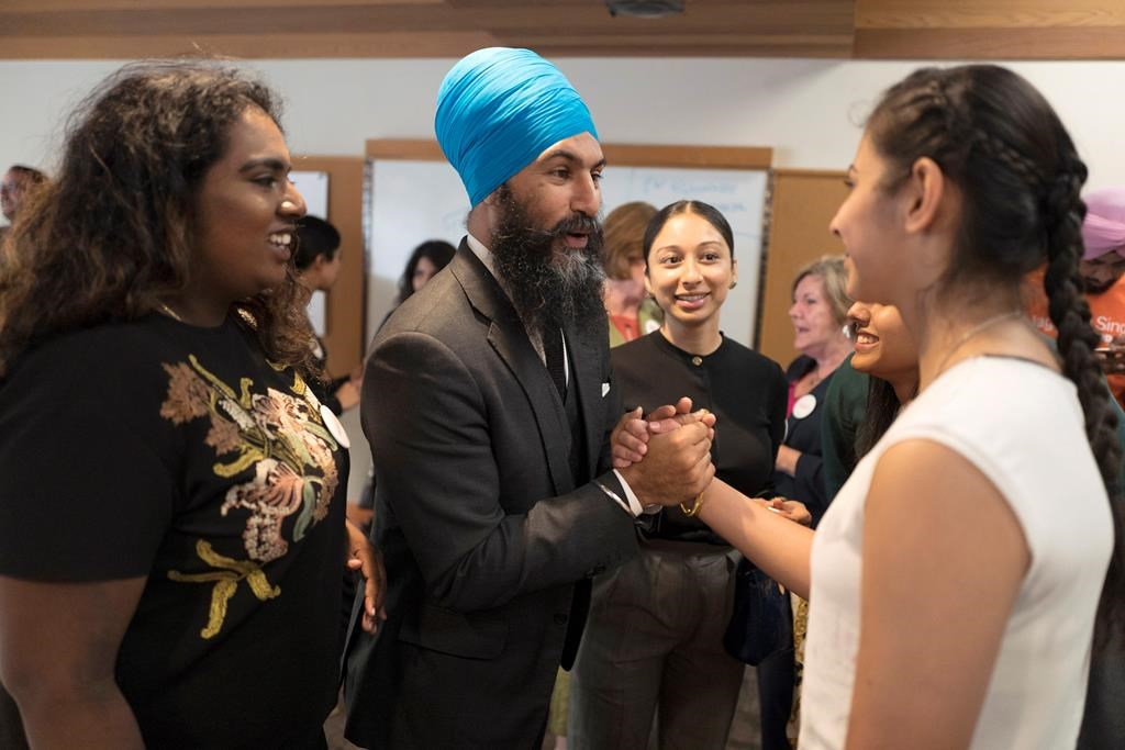 Jagmeet Singh, supporters, NDP's Leadership,