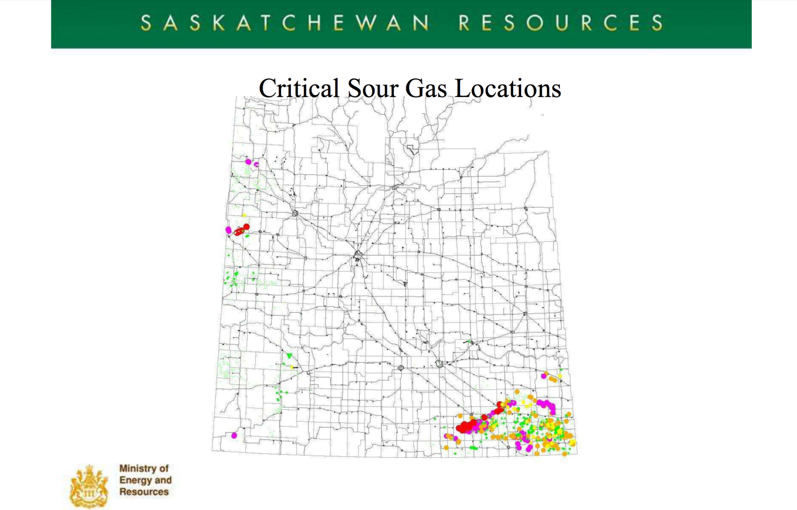 The Price of Oil, Todd Han, critical sour gas locations, H2S, Saskatchewan