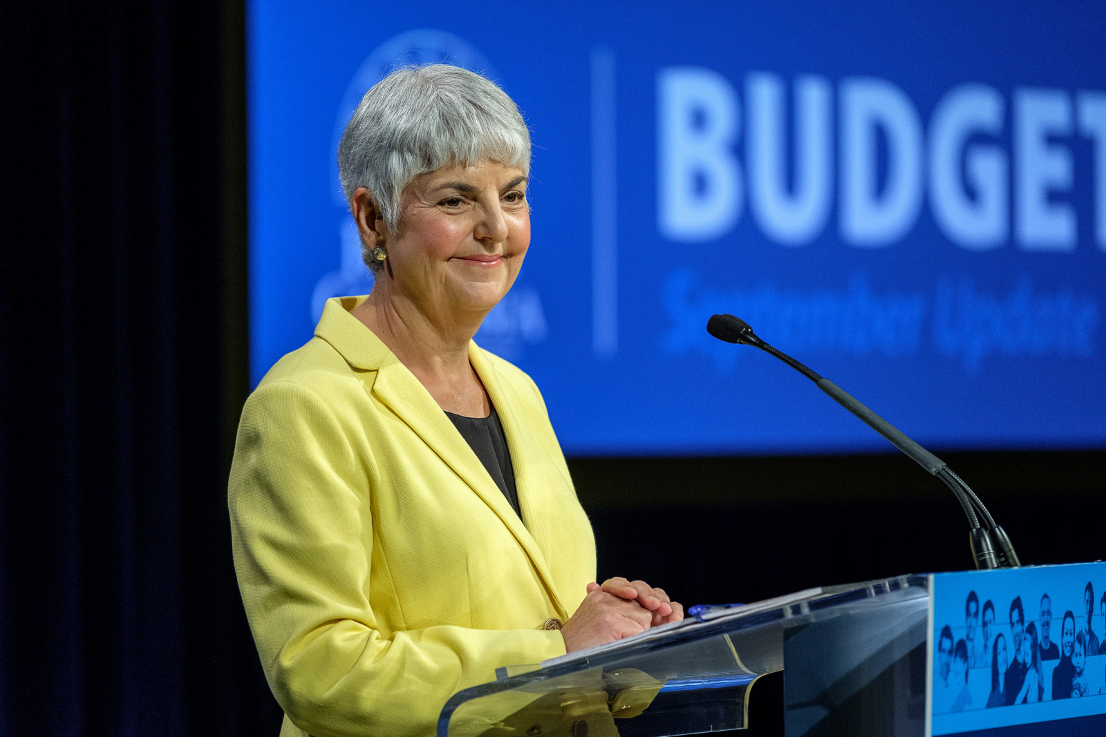 Carole James is B.C.'s finance minister.