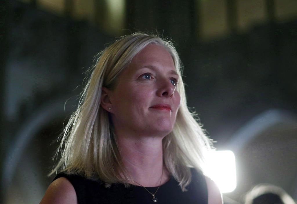 Environment Minister, Catherine McKenna, House of Commons, Parliament Hill