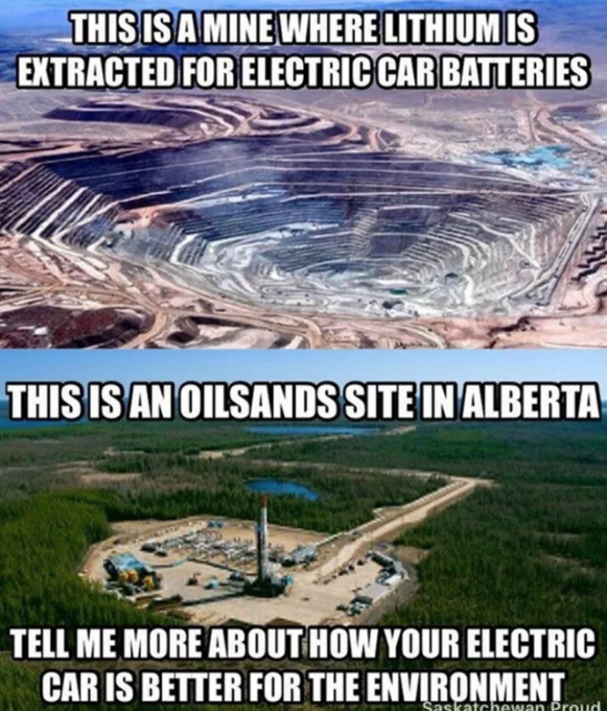 Saskatchewan Proud, lithium battery, oilsands, David Suzuki