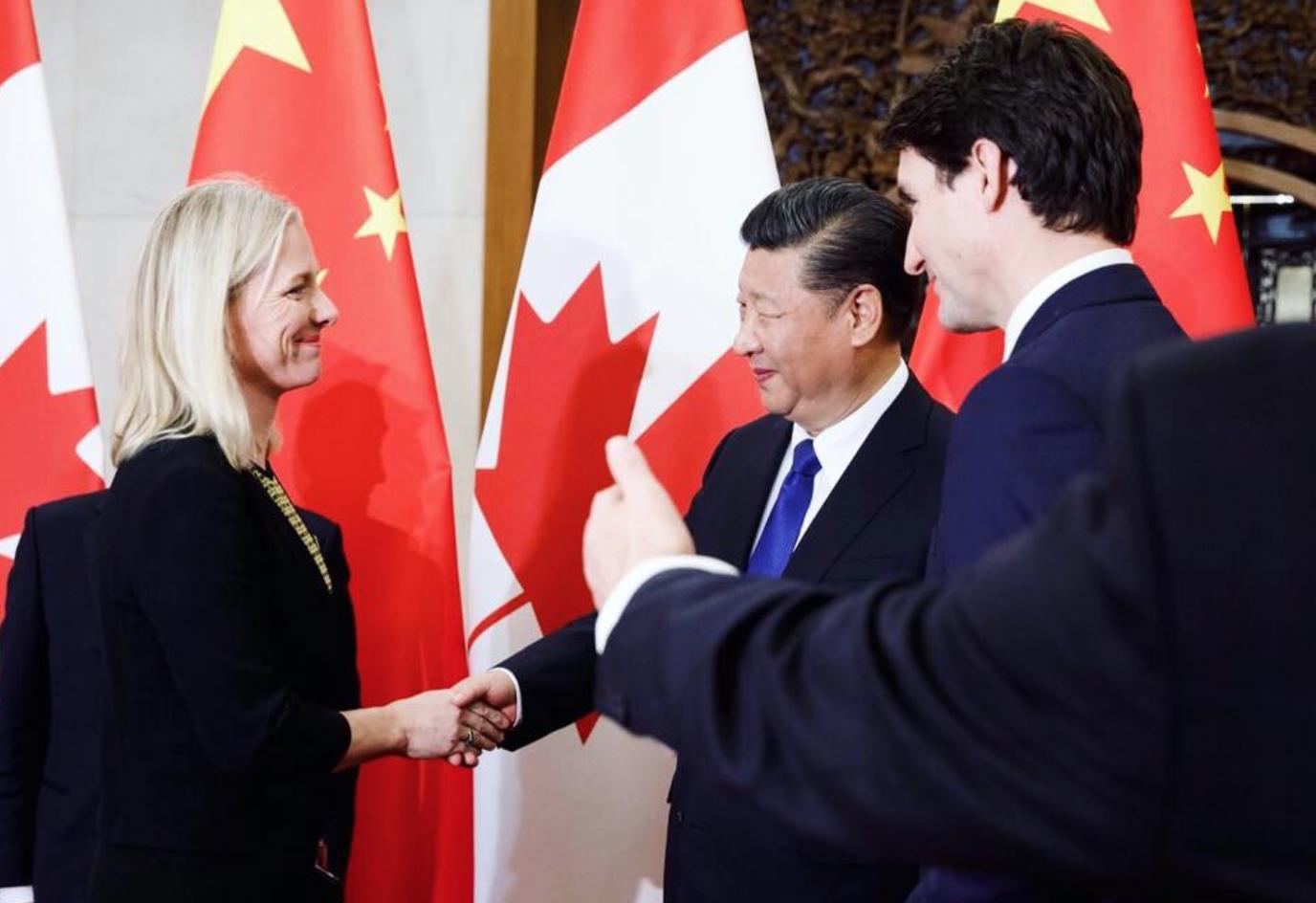 China, Beijing, Justin Trudeau, Catherine McKenna