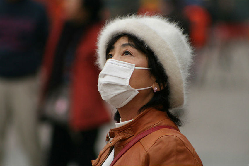 Beijing, China, air pollution, climate change