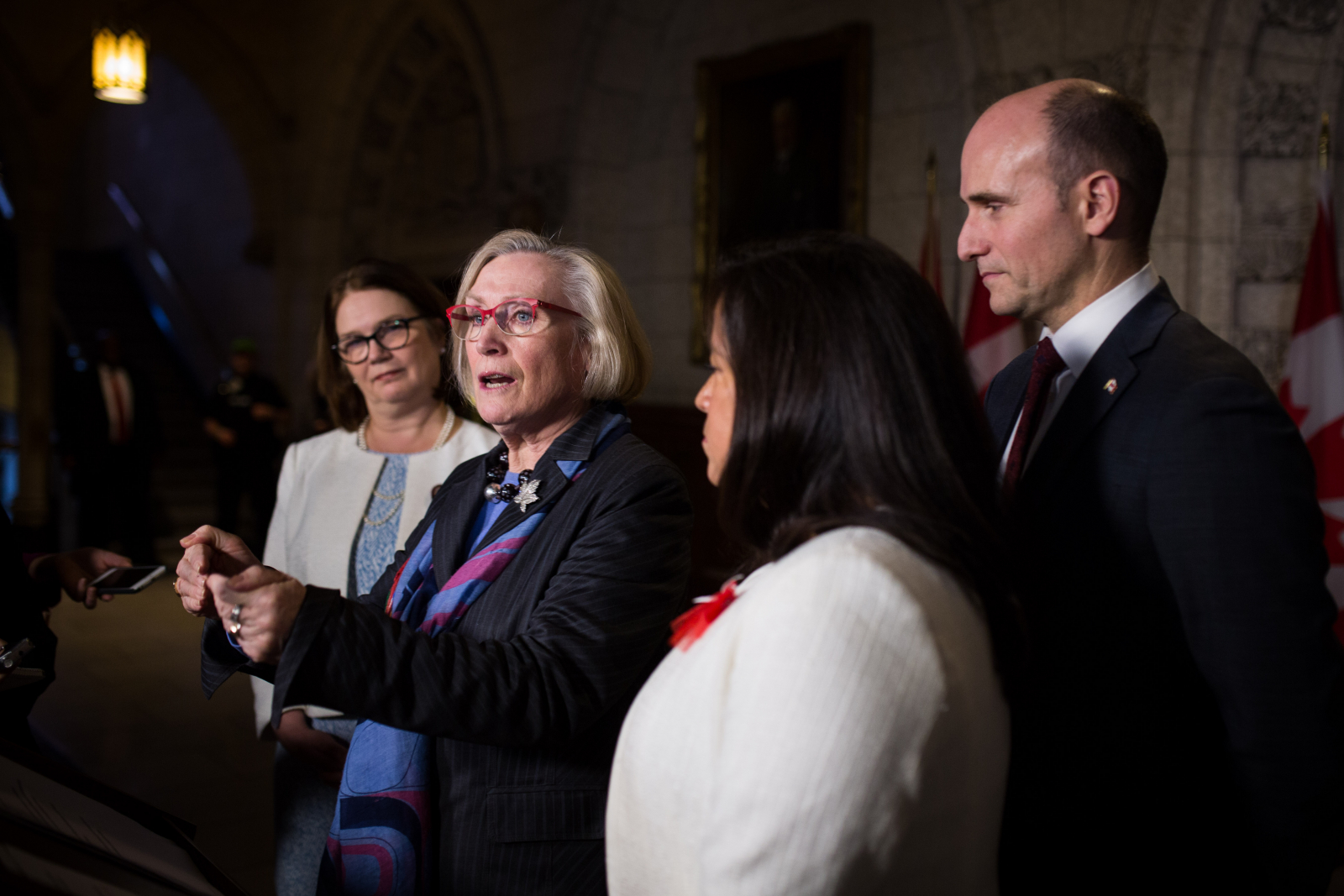Carolyn Bennett, Indigenous affairs, Parliament Hill