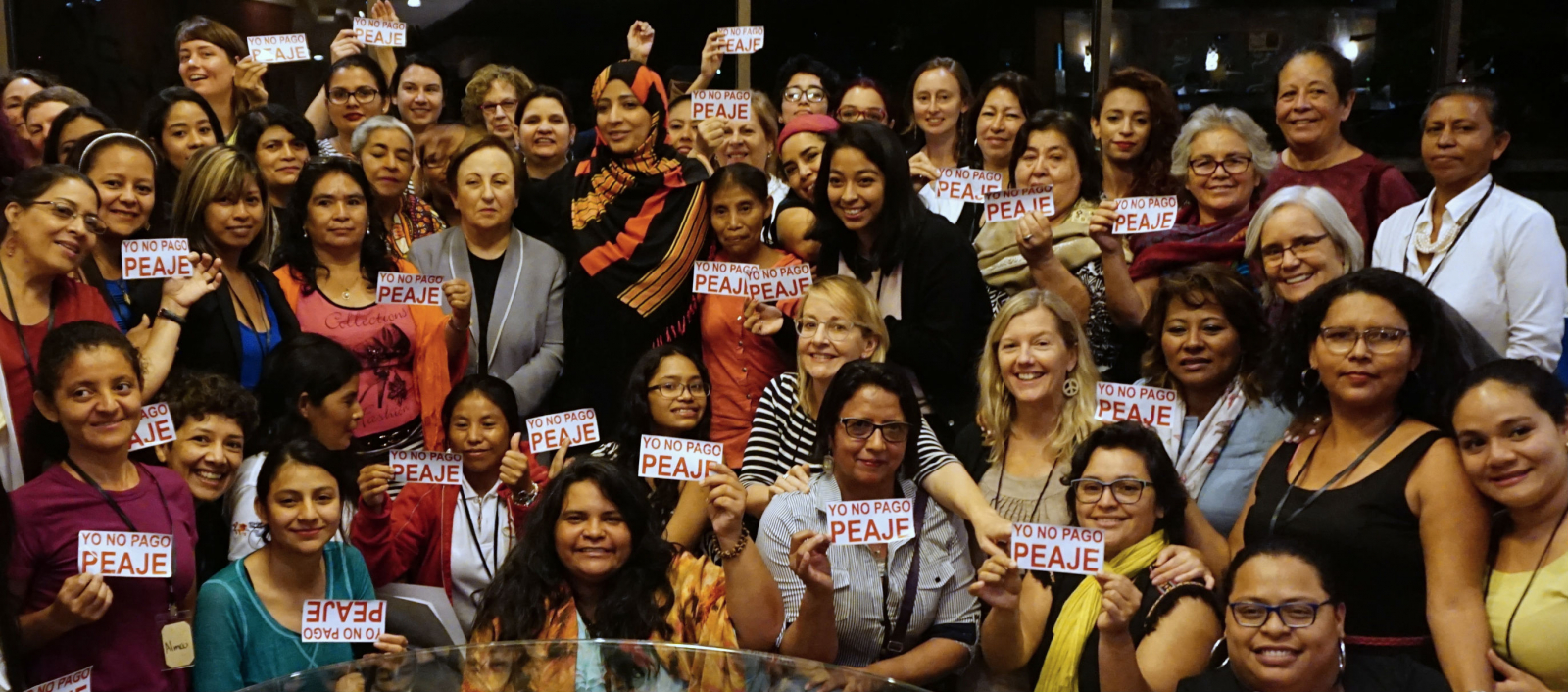 Women Land Peace, Nobel Women's Initiative, Tawakkol Karmen, Honduras, Tegucigalpa, Berta Cáceres