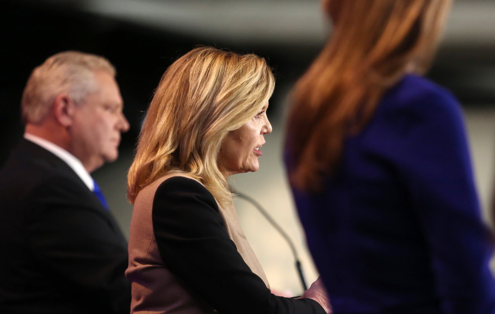 Doug Ford, Progressive Conservative Party of Ontario, Christine Elliott, Caroline Mulroney, Ottawa, debate