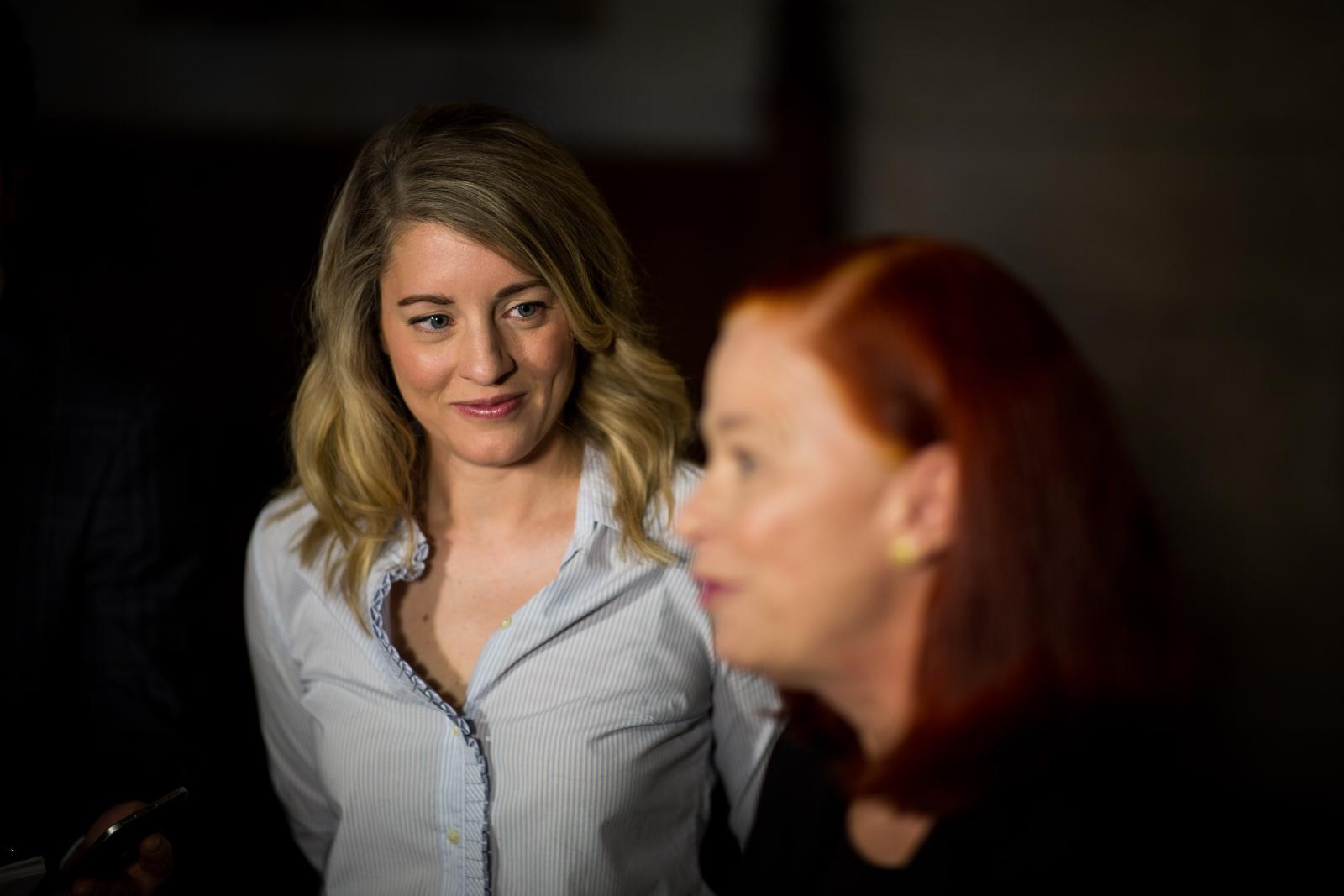 Mélanie Joly, Catherine Tait, CBC, Radio-Canada, Ottawa