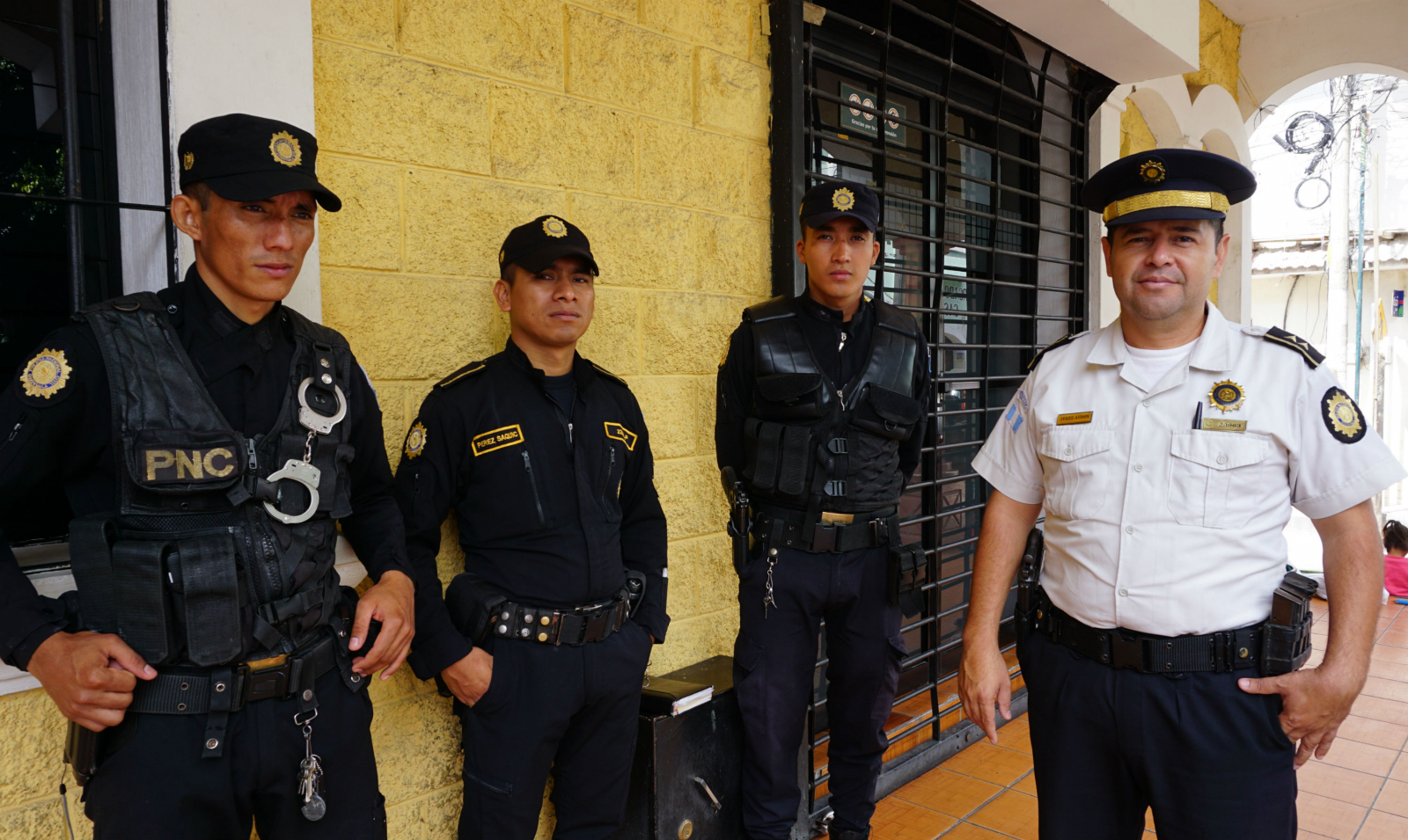 Guatemalan police, National police, Casillas, Escobal mine