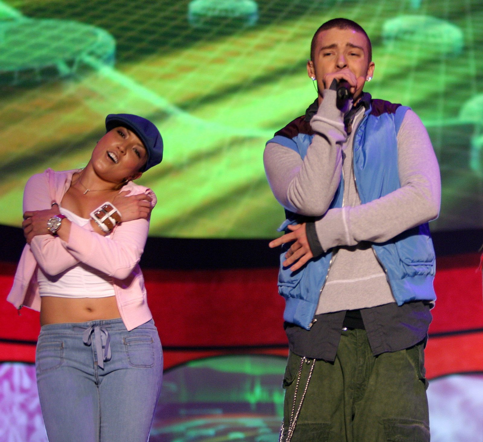 Justin timberlake, Kelly Konno kids_choice