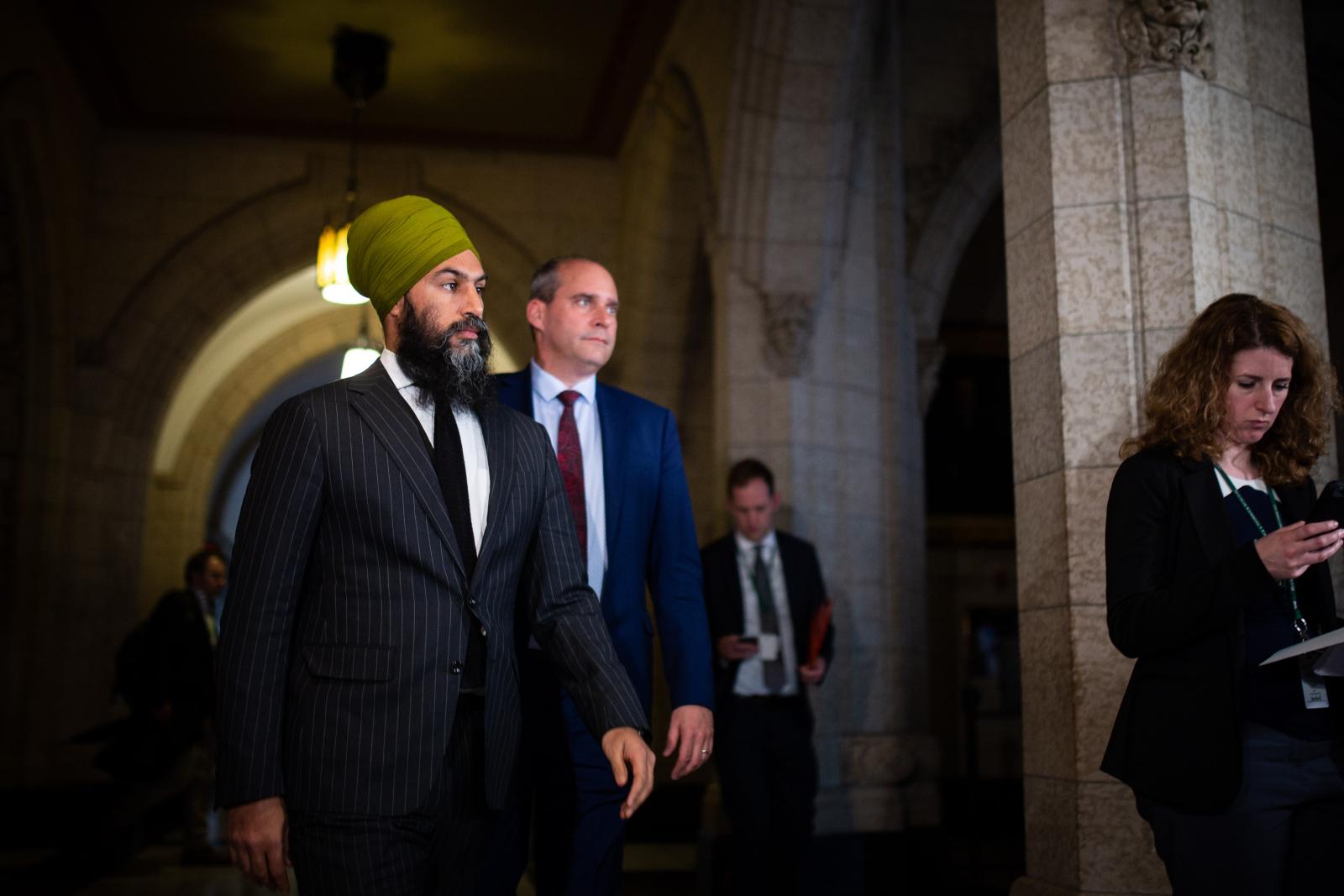 Jagmeet Singh, Guy Caron, NDP, Ottawa