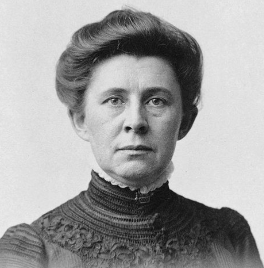 Ida Tarbell in a photograph from Wikipedia