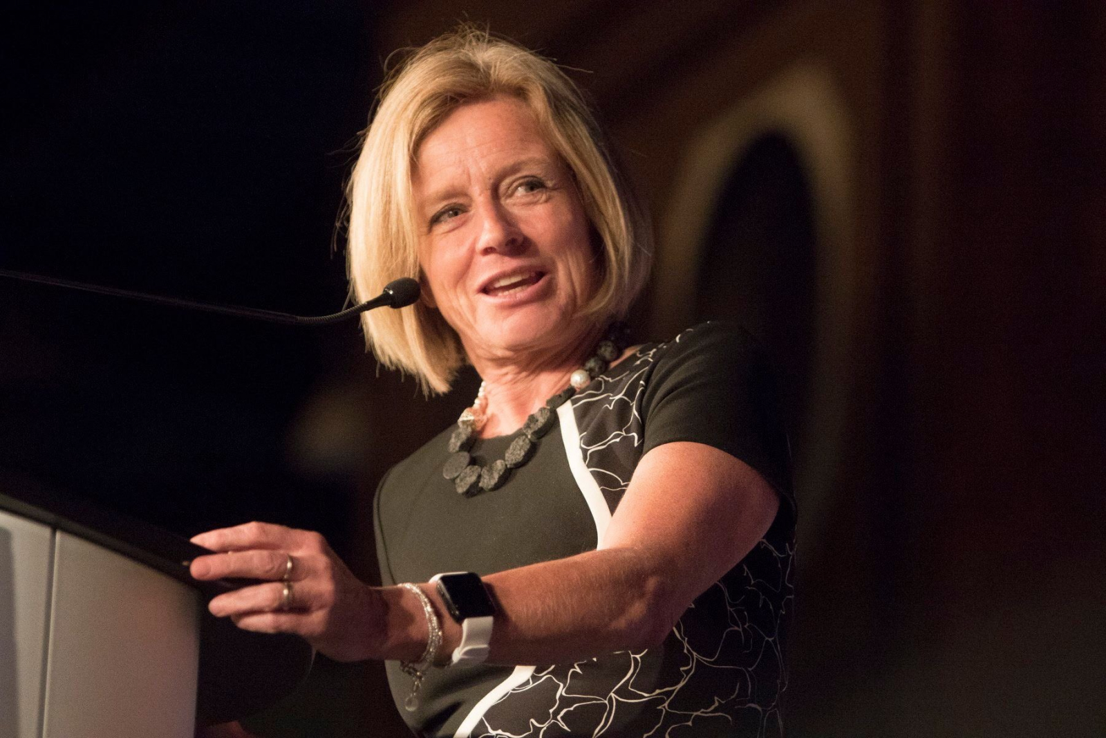 Rachel Notley, Trans Mountain, Kinder Morgan, Chamber of Commerce, oilsands, pipelines
