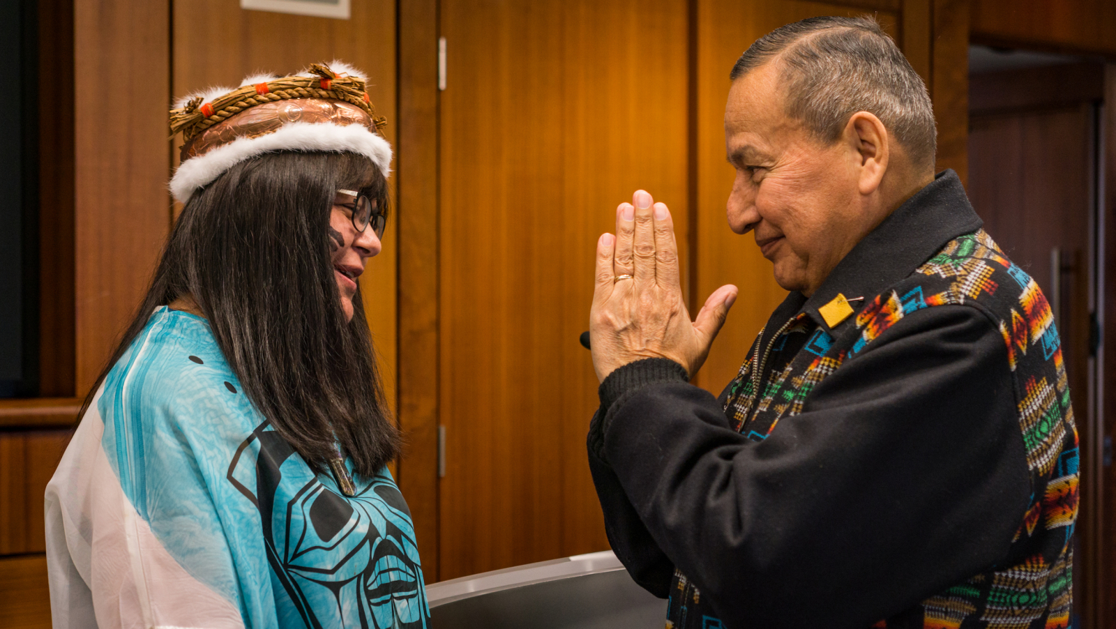 Image result for Grand chief Stewart Phillip saluted Marilyn Slett, Heiltsuk elected chief councillor,