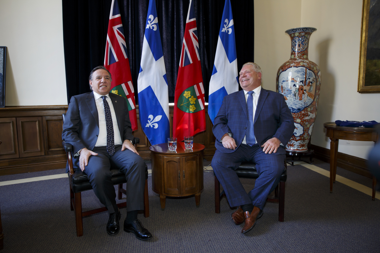 François Legault, Doug Ford, Toronto Maple Leafs, Montreal Canadiens