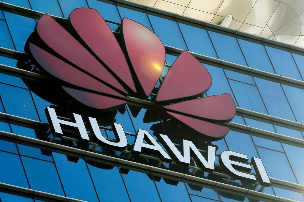 logo of Huawei, research and development centre, Dongguan, China, Guangdong province,