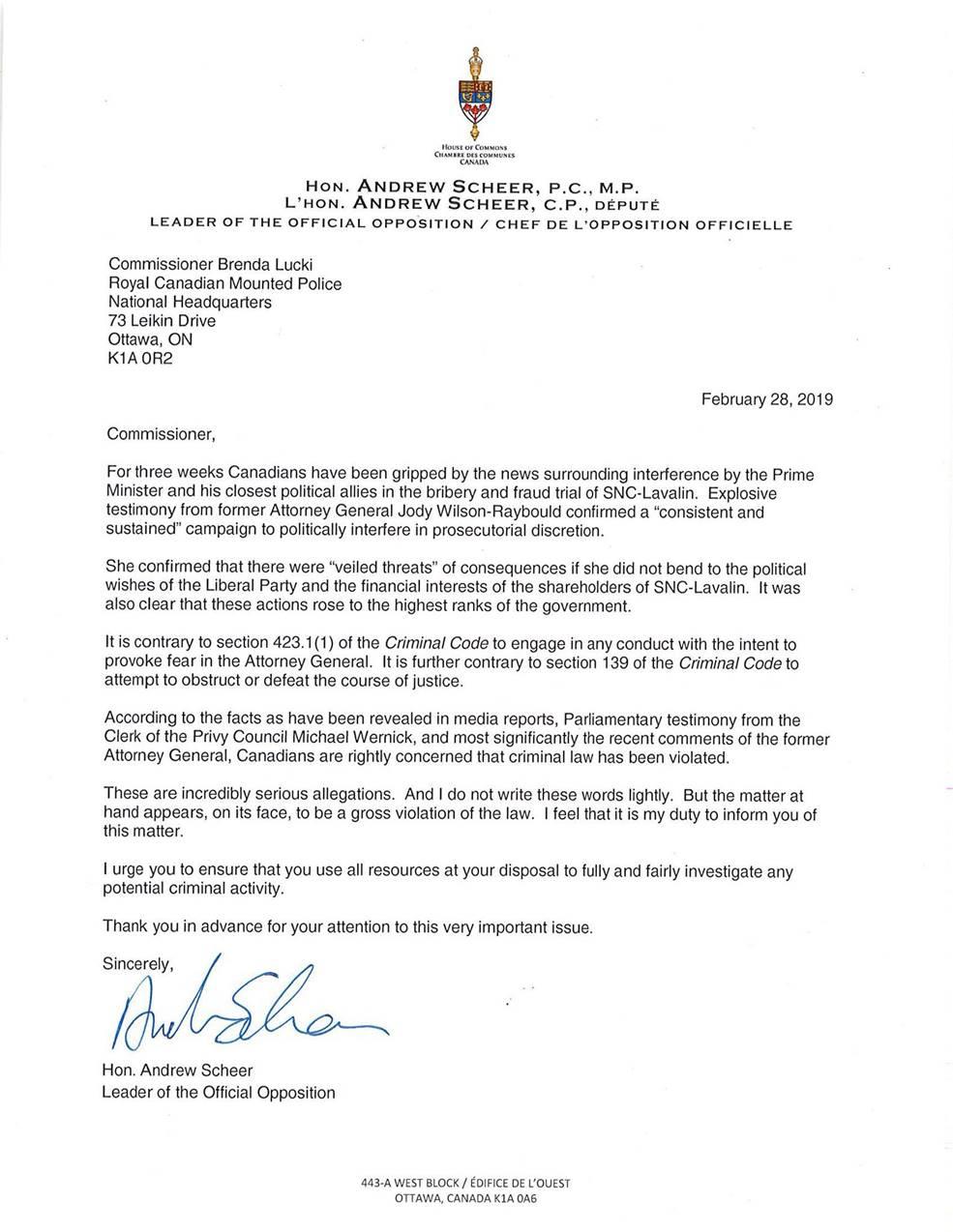 Emergency House debate held over SNC-Lavalin scandal
