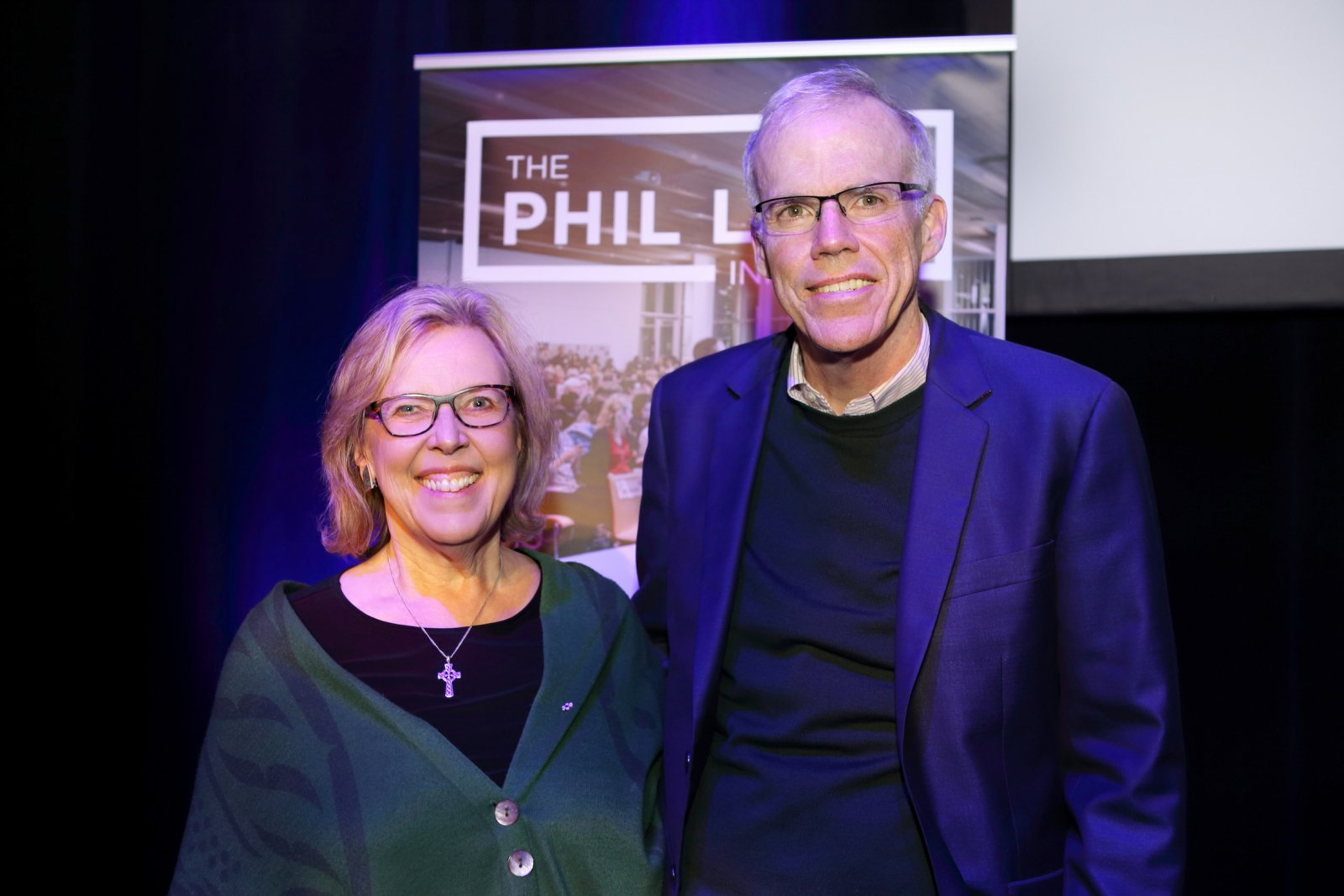 Elizabeth May and Bill McKibben