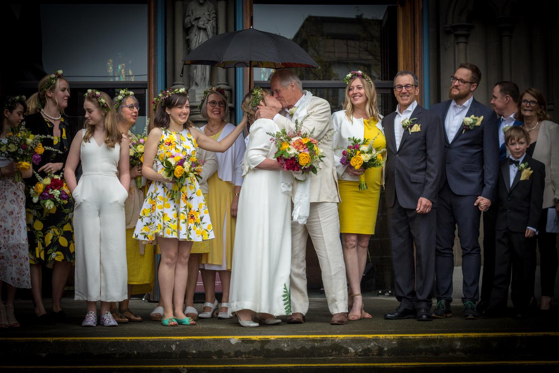 Elizabeth May marries John Kidder on Earth Day 2019