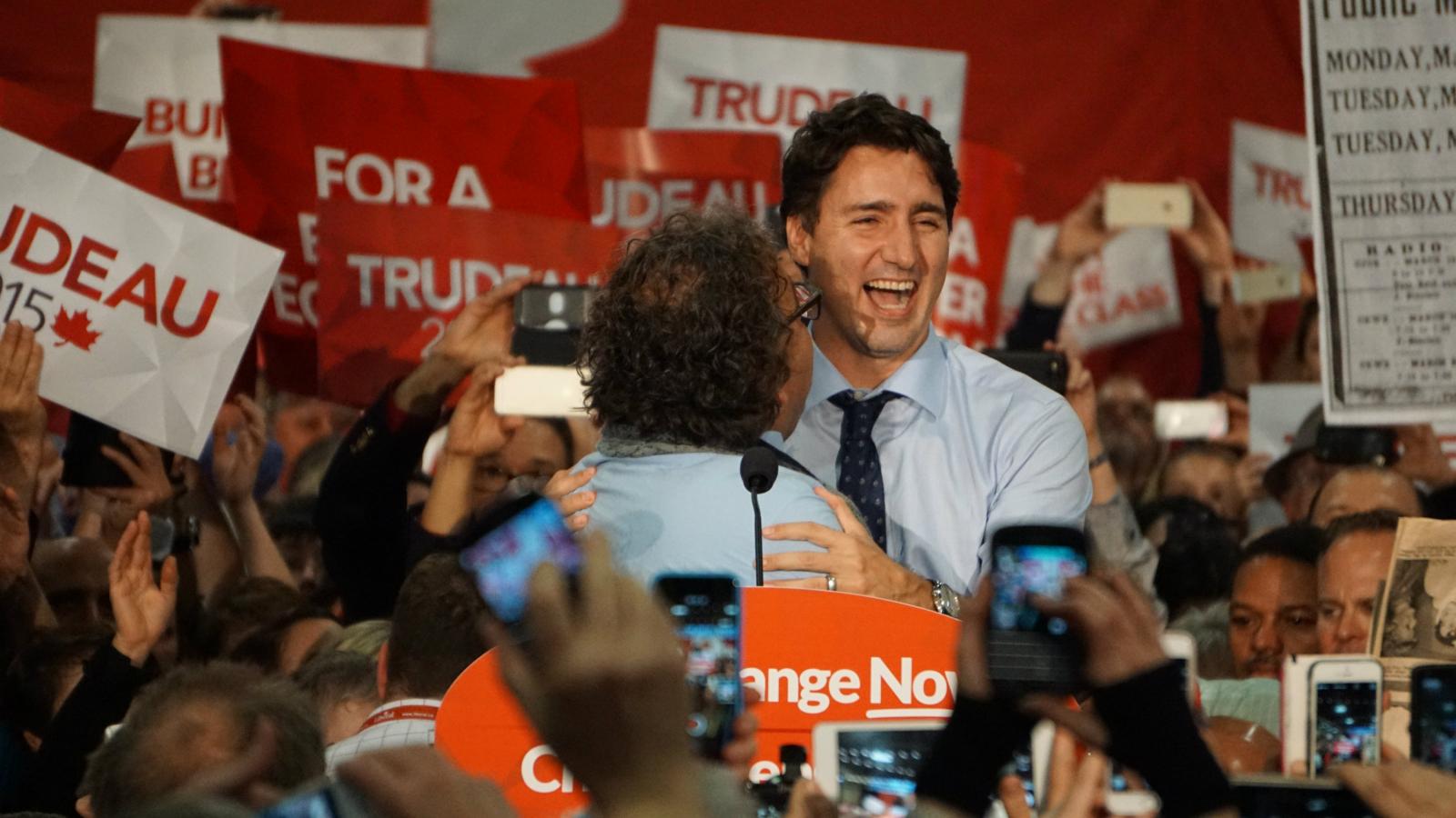 Canada : Justin Trudeau 43 ans, un nouveau Premier ministre inattendu  Jt_wins_2