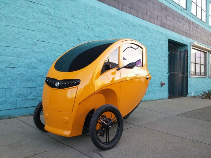 Part Bike Part Car Velometro To Take Cities By Storm