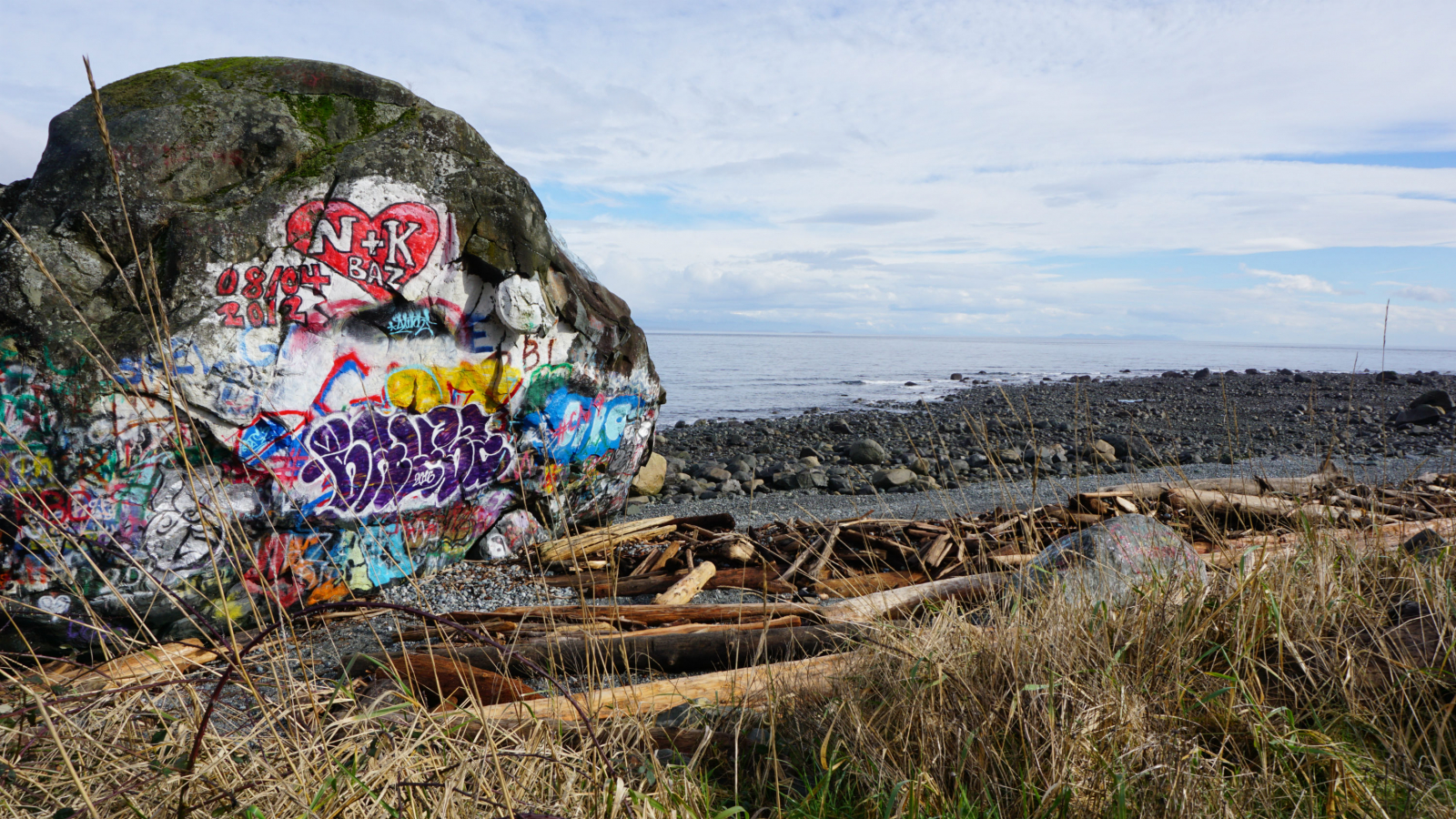 The Big Rock In Campbell River, Bc Is A Local Art Project With A  Fascinating Scientific And First Nations History See Reason Number Five To  Learn More