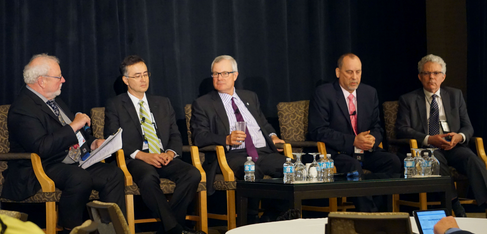 Coal Executives (left To Right) Gerard Mccloskey, Hans Daniels, Ernie  Thrasher, Brad Johnston And Robert Bell Discuss The State Of The Industry  At The 2016